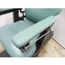 パイオニア椅子 バーバーチェア 薄緑 6