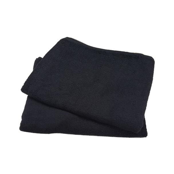 スレンカラータオル(ヘアカラー/ブリーチ用)240匁 12枚入 ブラック 1