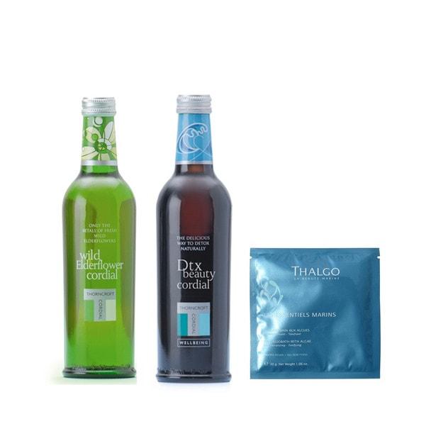 ソーンクロフト ハーブコーディアル ギフト2本セット+タラセルバン(入浴剤)プレゼント 1