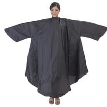 袖付カラークロスBIG(防水&静電気防止仕様) ブラック