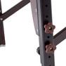 高級ワイド木製折りたたみベッド006WDX(ダークブラウン) 10
