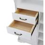【シャビーシック】木製アンティークレジカウンター VICTOIRE-900(ヴィクトール)アンティークホワイト 3