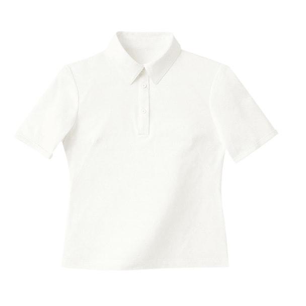 半袖きれいポロ(天竺)WP301-17(M)(ホワイト) 1