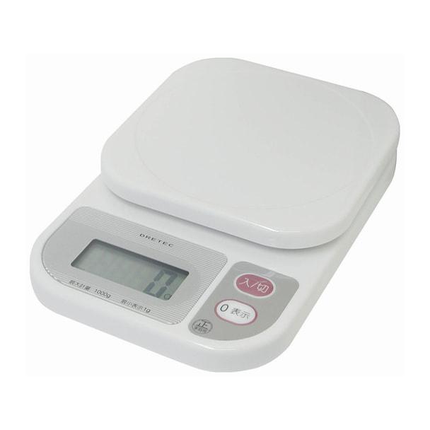 コンパクトスケール1kg KS-108 ホワイト
