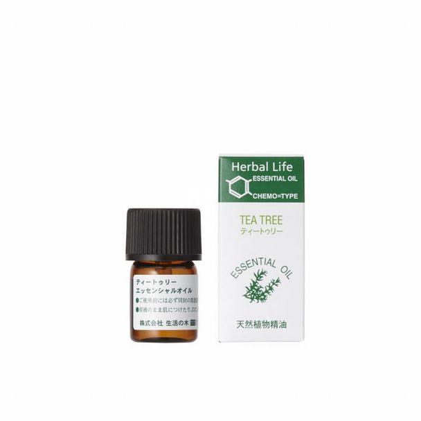 生活の木 エッセンシャルオイル ティートゥリー精油3ml 1