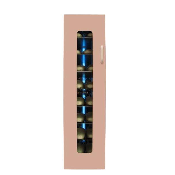 殺菌スリッパ保管庫 UVクリーン エクセレント 8足 右取手 (ピンク)