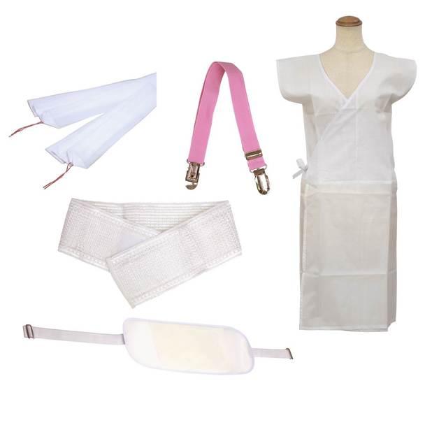 【着付け/和装】浴衣着付け 小物5点セット 1