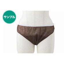 ダブルラップペーパーショーツ(ジャパンシルエット)【5L】(ダークブラウン)【サンプル】