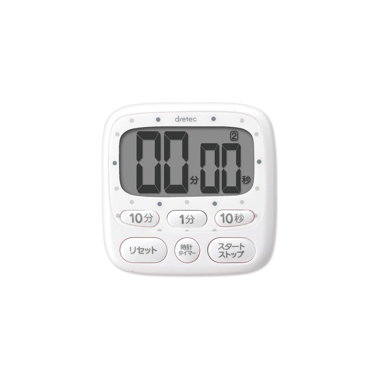 時計付大画面タイマーT-566