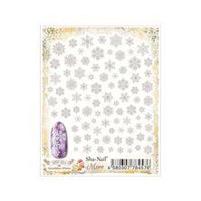 写ネイルMore Snowflakes(White)MSF-001