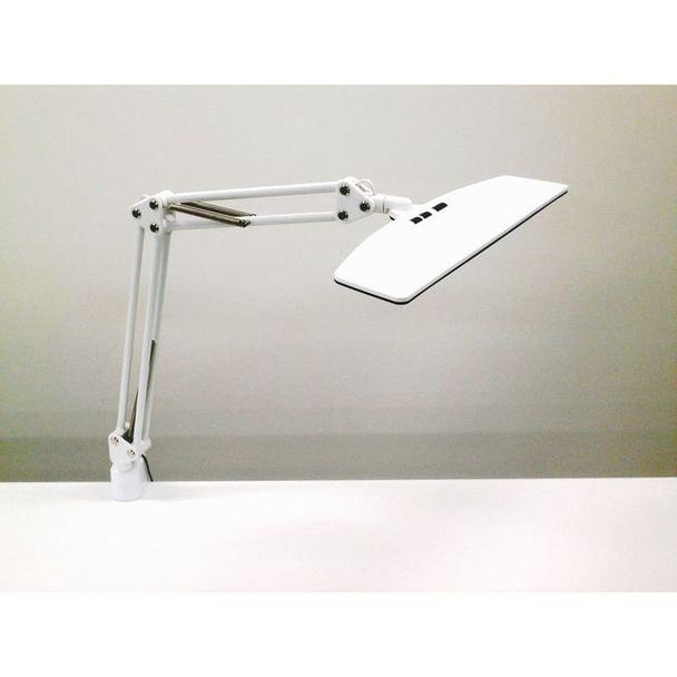 LUPINUS LEDデスクライト クランプ式(ホワイト)EK263-WH2 1