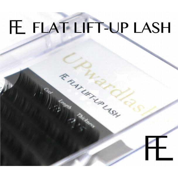 FLAT LIFT・BLACK [CCカール 太さ0.20 長さ10mm]