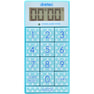 デジタルタイマー スリムキューブT-520BL ブルー