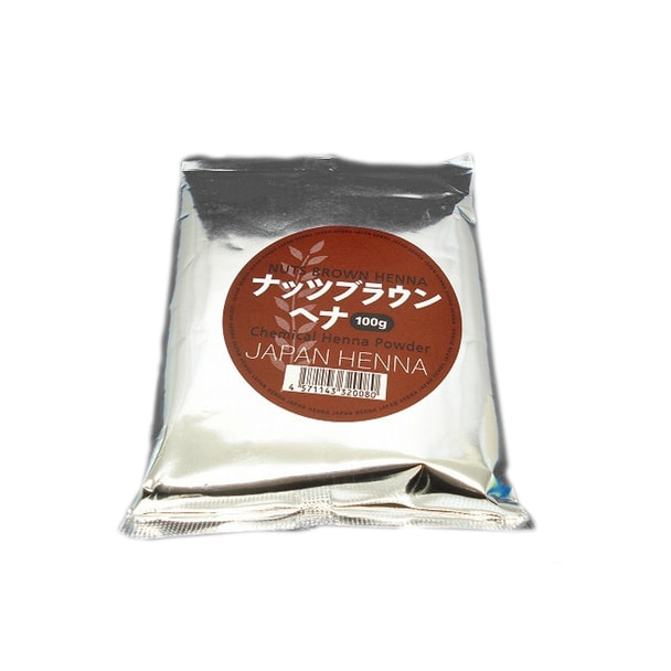 【ジアミン入り】ジャパンヘナ ナッツブラウン100g (雑貨タイプヘナ)