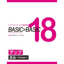 BASIC OF BASIC vol.18 アップ<夜会(すき毛あり)> 技術解説/高畑克己・久保一三(FEERIE フェリー)