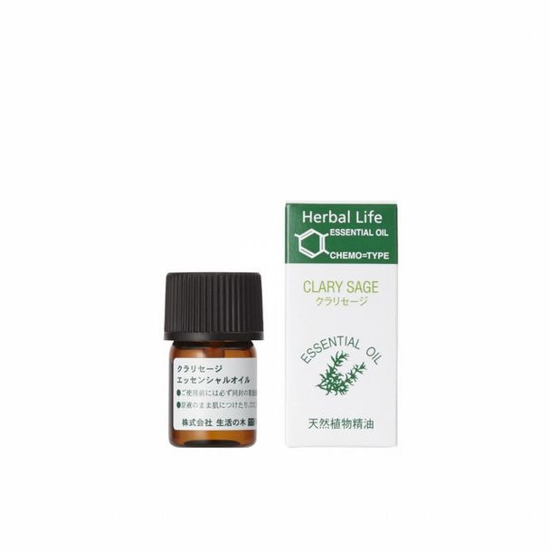 生活の木 エッセンシャルオイル クラリセージ 精油 3ml 1