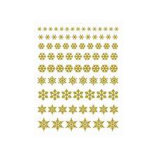 エレガントカットシールミニ  結晶 ゴールド(5603-7212)