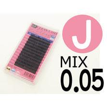 【松風】先細抗菌やわらかシルクセーブル Jカール[太さ0.05][長さMIX] (01600)