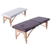 軽量木製折りたたみベッド EB-03(キャリーバッグ付)  (ホワイト)