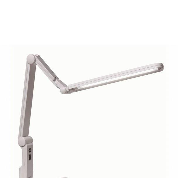 LUPINUS LEDデスクライト(クランプタイプ) ホワイトEK310 1