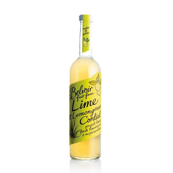 ビーバーフルーツファーム コーディアル ライム&レモングラス 500ml 1