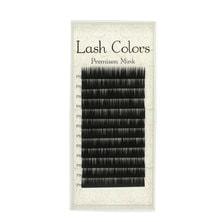 【LashColors】プレミアムミンク Cカール[太さ0.12][長さ13mm]
