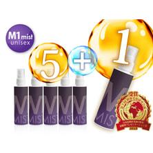 M-1ミストユニセックス120ml(医薬部外品)お得な6本セット