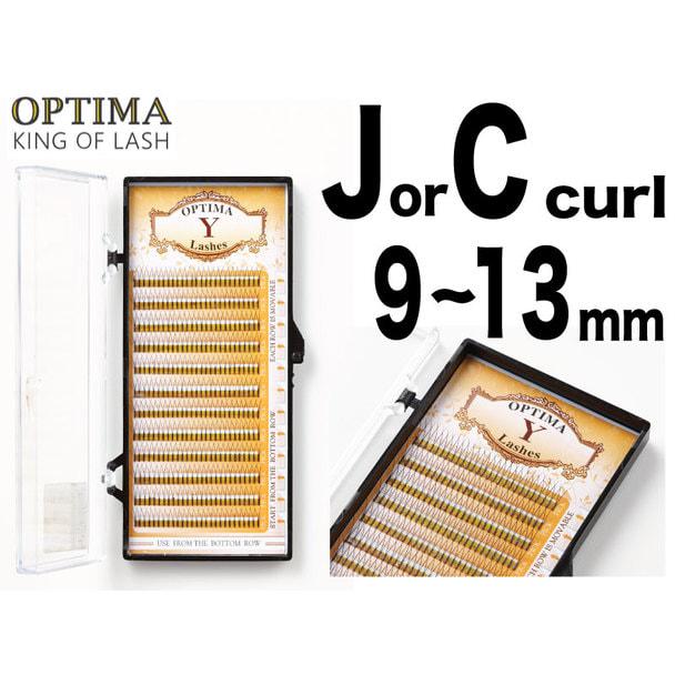 【OPTIMA】Yラッシュ Cカール[太さ0.15][長さ10mm] 1