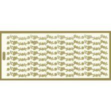 エレガントカットシールバラ600-0927(ゴールド)