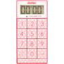 デジタルタイマー スリムキューブT-520PK ピンク