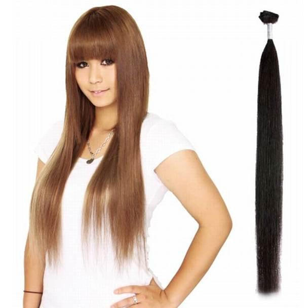 シルキーヘア40g (人毛100%・約65cm) カラー1 1