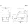 【TOUGH DESIGN PRODUCT】T802(選べる2色+脚部8タイプ) 11