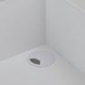 【シャビーシック】木製アンティークレジカウンター VICTOIRE-900(ヴィクトール)アンティークホワイト 5