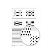 airlicious マスキングシート (水玉・ストライプ7種) AL-003