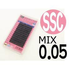 【松風】先細抗菌やわらかシルクセーブル SSCカール[太さ0.05][長さMIX] (01609)