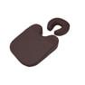 フェイス&バストマットセット(標準タイプ)ダークブラウン 1