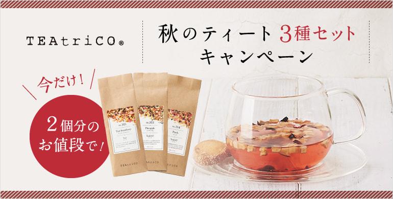 【数量限定】食べられるお茶ティート人気3種キャンペーン実施中!2個分のお値段で3個購入できます!
