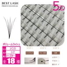 【BEST LASH】セーブルファン5D