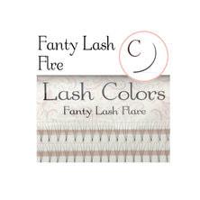 【LashColors】ファンティフレア3D Cカール[太さ0.06][長さ8mm]
