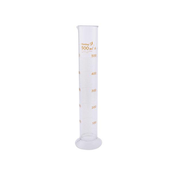メスシリンダー(ガラス製500ml) 1