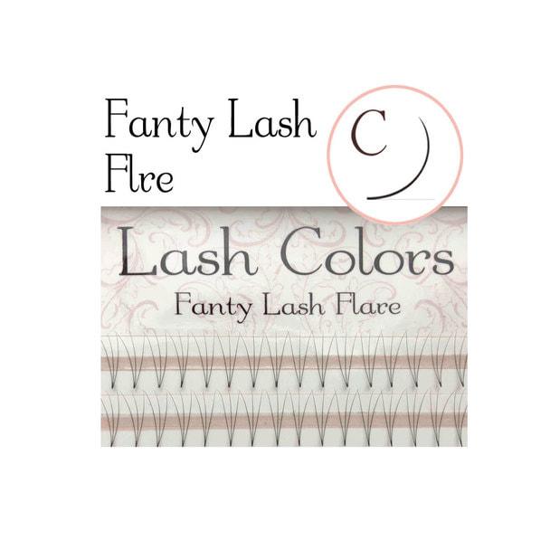 【LashColors】ファンティフレア3D Cカール[太さ0.06][長さ8mm] 1