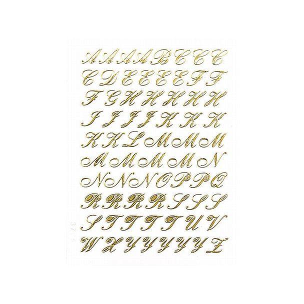 エレガントカットシール ミニ 筆記体 M(5901-3765)