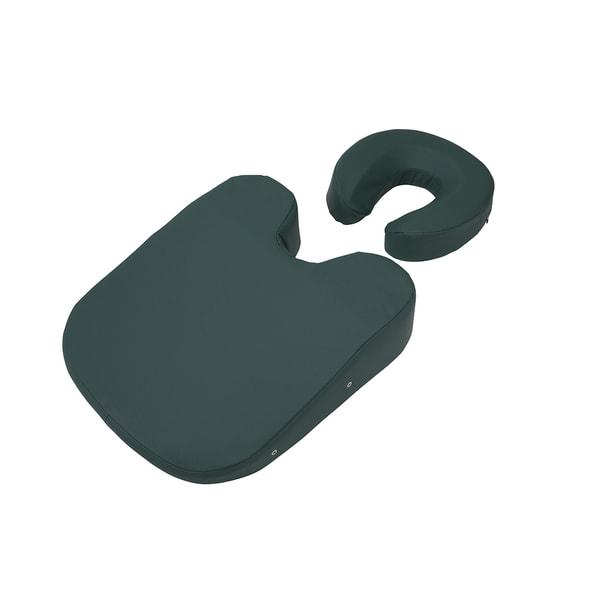 フェイス&バストマットセット(標準タイプ)ダークグリーン 1