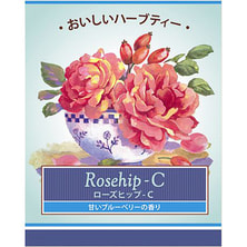 生活の木 おいしいハーブティー ローズヒップ-C【ティーバッグ10個入】
