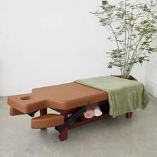 【FORTE】アームレスト可動式高級木製リクライニングベッド「フォルテ」