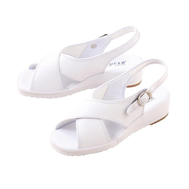 サンダルCL-0164(21.0)(ホワイト) 1