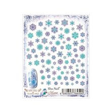 写ネイルMore Snowflakes(Blue) MSF-003