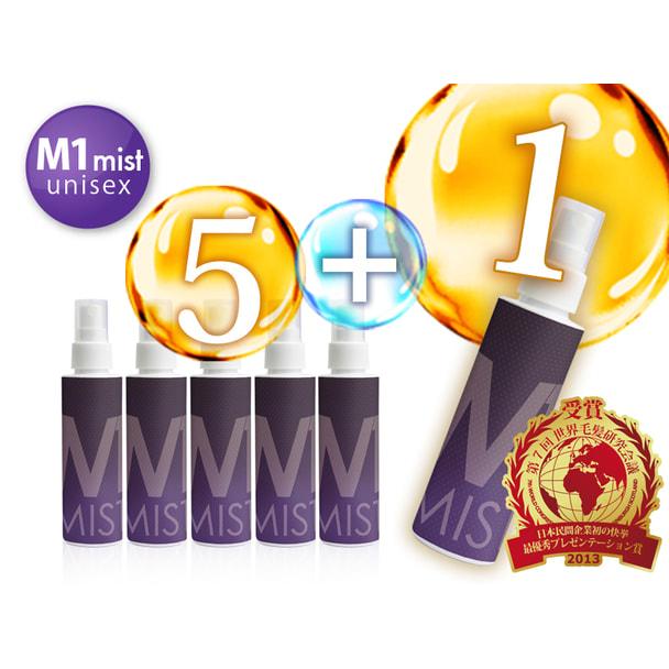 M-1ミストユニセックス120ml(医薬部外品)お得な6本セット 1