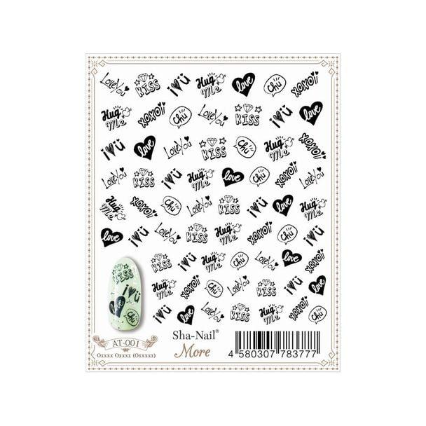 写ネイル More Pop Stamps 1(Black) MPS-001