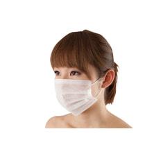 二層フェイスマスク SP (50枚入・ホワイト)